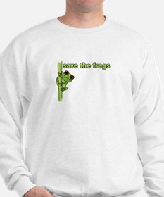 Save the Frogs Sweatshirt