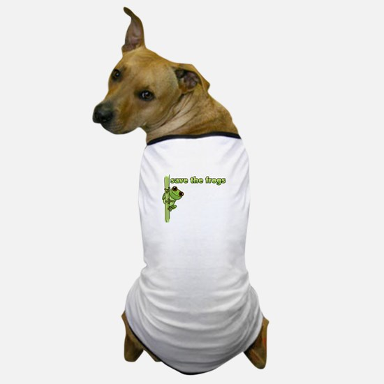 Save the Frogs Dog T-Shirt