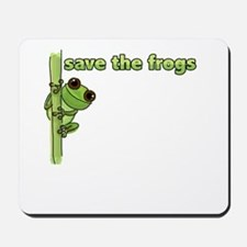 Save the Frogs Mousepad