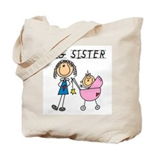Big Sister With Little Sis Tote Bag