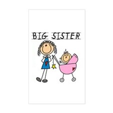 Big Sister With Little Sis Decal