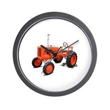 Cute Chalmers grandpa agriculture Wall Clock