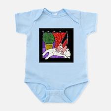 Westie Tummy Tickle Infant Creeper