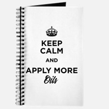 Keep Calm and Apply More Oils Journal
