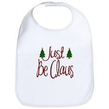 Just Be Claus Bib
