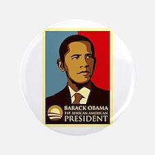 "Obama Graffiti 3.5"" Button (100 pack)"