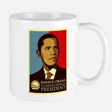 Obama Graffiti Small Small Mug