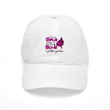 Some Girls...Snowmobile Baseball Cap