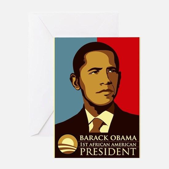 OBAMA_1st Greeting Cards
