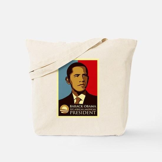 Cute Barack obama 08 Tote Bag