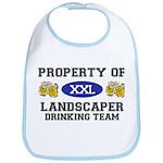 Property of Landscaper Drinking Team Bib