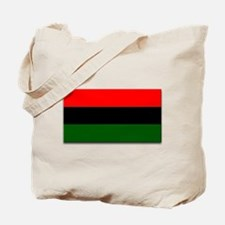 Red Black and Green Flag Tote Bag