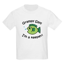 Grampy Says I'm a Keeper T-Shirt