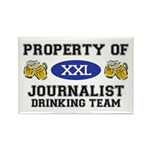 Property of Journalist Drinking Team Rectangle Mag