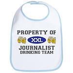 Property of Journalist Drinking Team Bib