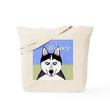 Adopt a Siberian Husky Tote Bag