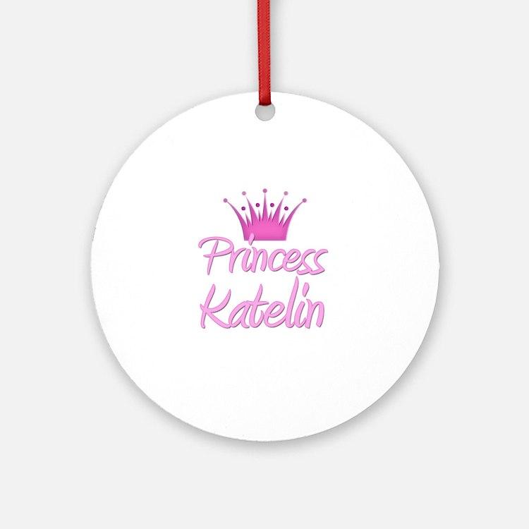 Princess Katelin Ornament (Round)