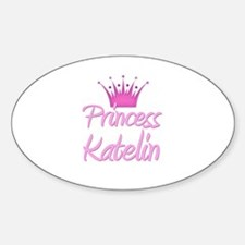 Princess Katelin Oval Decal