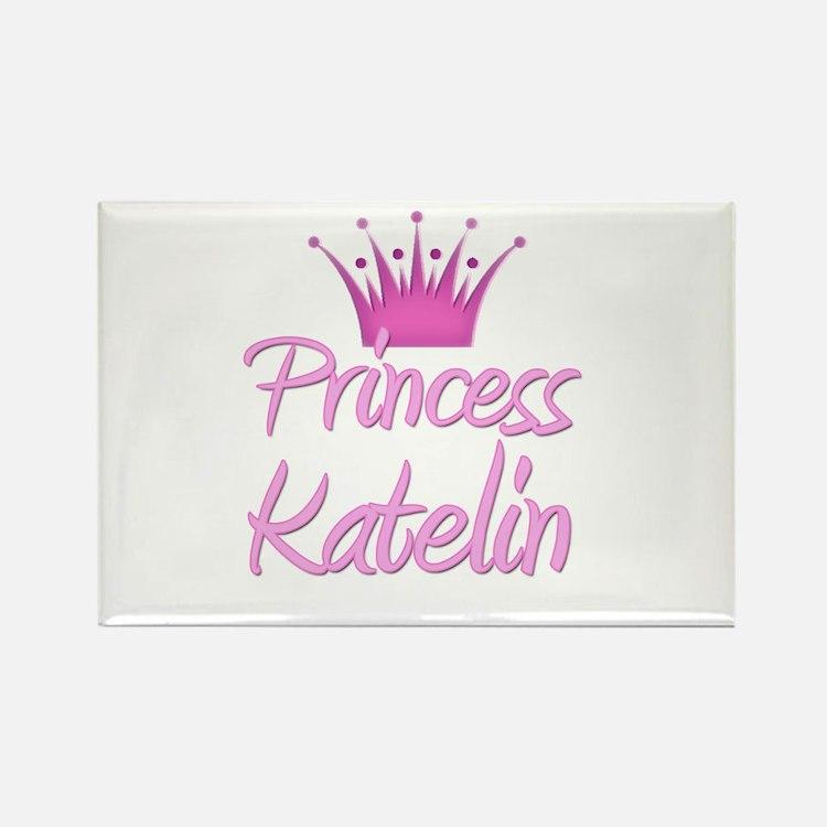Princess Katelin Rectangle Magnet