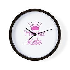 Princess Kate Wall Clock