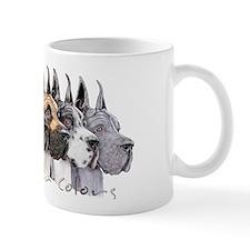 Great Dane Group Show Colors Mug