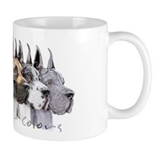 Great Dane Group Show Colors Small Small Mug