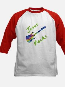 Jesus Rocks with Guitar 2 Tee