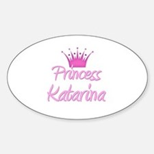 Princess Katarina Oval Decal