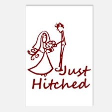 Just Hitched Postcards (Package of 8)