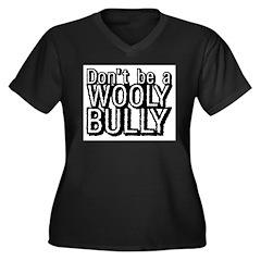 Wooly Bully Women's Plus Size V-Neck Dark T-Shirt