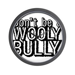 Wooly Bully Wall Clock