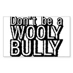 Wooly Bully Rectangle Sticker
