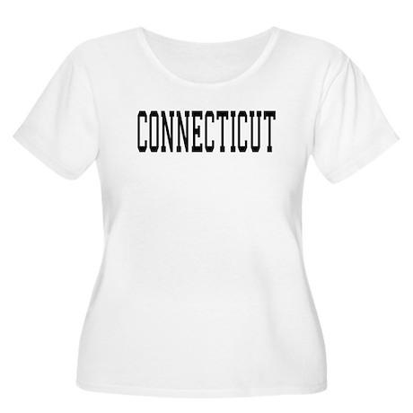 Connecticut Women's Plus Size Scoop Neck T-Shirt