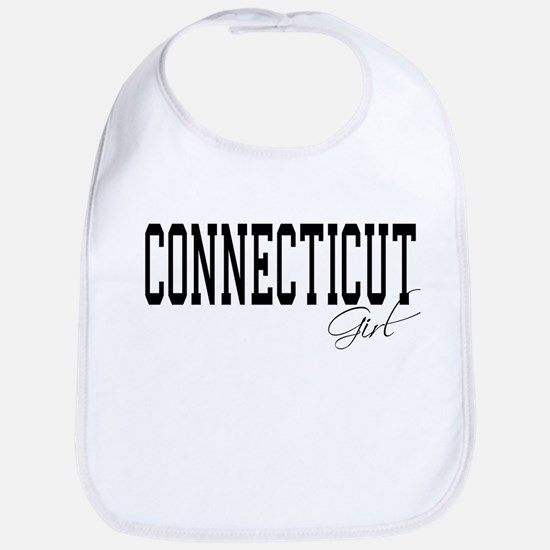 Connecticut Girl Bib