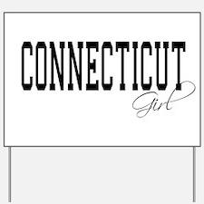 Connecticut Girl Yard Sign