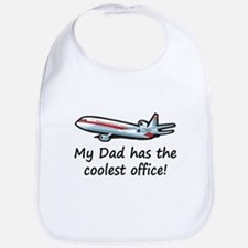 Dad's Airplane Office Bib