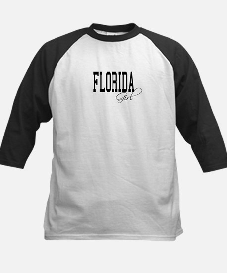 Florida Girl Kids Baseball Jersey