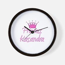 Princess Kasandra Wall Clock