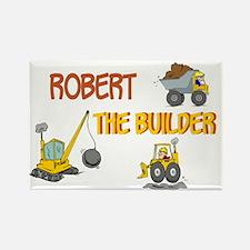 Robert the Builder Rectangle Magnet