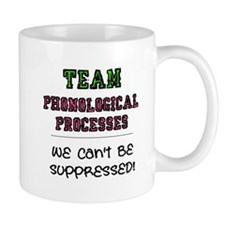 Team Phonological Processes Small Mug