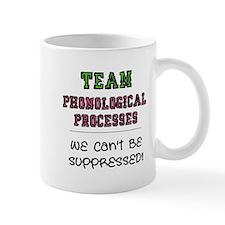 Team Phonological Processes Small Mug