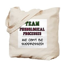Team Phonological Processes Tote Bag