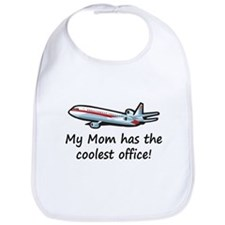 Mom's Cool Airplane Bib