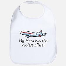 Mom's Cool Airplane Bib