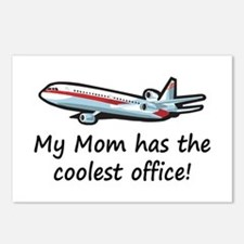 Mom's Cool Airplane Postcards (Package of 8)