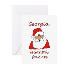 Georgia Christmas Greeting Card