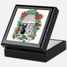Scottie Terrier Holiday Keepsake Box