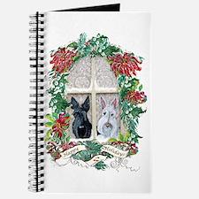 Scottie Terrier Holiday Journal