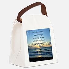 SERENITY PRAYER Canvas Lunch Bag