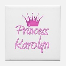 Princess Karolyn Tile Coaster